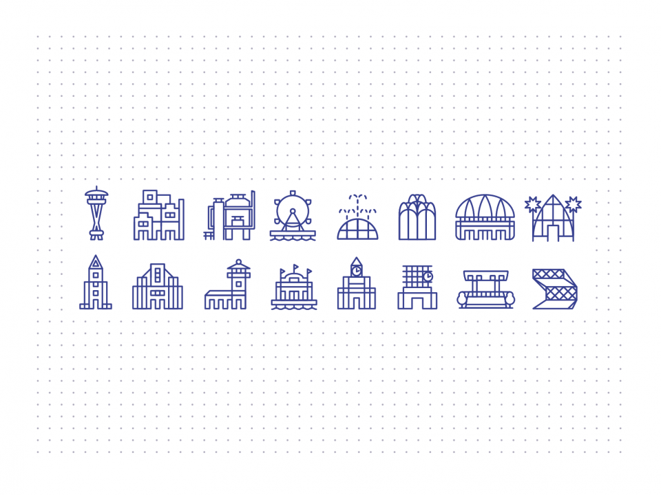 Dribbble Iconsset